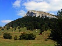 Landscape in Serbia Stock Photo