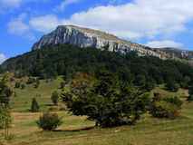Landscape in Serbia Stock Images