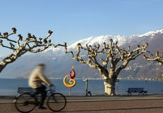 Landscape series - Ascona  Royalty Free Stock Image