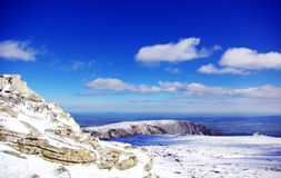 Landscape of Serra da Estrela Royalty Free Stock Photo