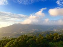 Landscape. Seven star hill clouds of Taipei Royalty Free Stock Photos