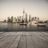 Landscape of shanghai Stock Photo