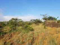 Landscape in Sheshera, Ethiopia stock image