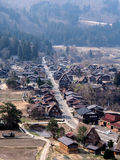 Landscape of Shirakawa-go village, Japan 2 Royalty Free Stock Image