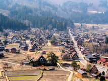 Landscape of Shirakawa-go village, Japan 3 Stock Images
