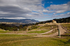 Landscape shot of Ingapirca important inca ruins Stock Photos
