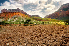 Landscape shot in Tigray province, Ethiopia, Africa Stock Photos