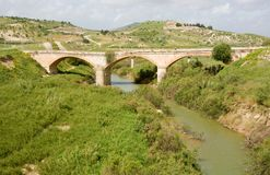 Landscape in Sicily, Italy Stock Image
