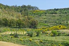 Landscape of Sicily Royalty Free Stock Photography