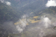 Landscape in Sikkim, India Royalty Free Stock Photography
