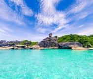 Landscape_similan_island_thailand royalty-vrije stock fotografie