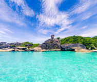 Landscape_similan_island_thailand royalty free stock photography