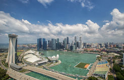 Landscape of the Singapore Royalty Free Stock Images