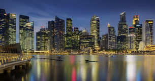 Landscape of the Singapore Stock Images