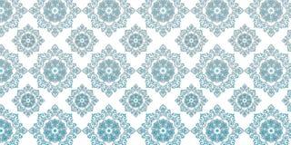 Landscape design sky blue pattern floral stock illustration