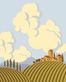 Landscape sky Stock Photo