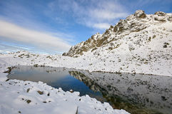Landscape in Slovak High Tatras Royalty Free Stock Photography