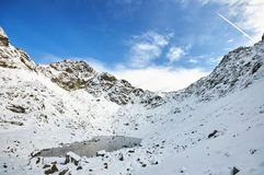 Landscape in Slovak High Tatras Royalty Free Stock Image