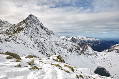 Landscape in Slovak High Tatras Stock Image
