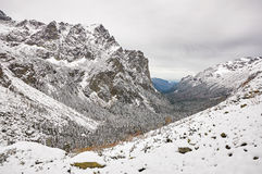 Landscape in Slovak High Tatras Stock Photos