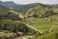 Landscape in Slovenia Royalty Free Stock Photo