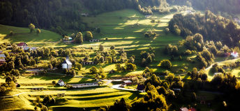 Landscape in Slovenia Royalty Free Stock Images