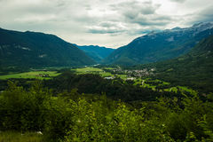 Landscape in Slovenia Royalty Free Stock Photography