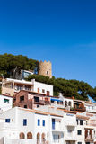 Costa Brava - Sa Tuna Royalty Free Stock Photo