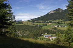 Landscape and small villages of Vercors Stock Photography
