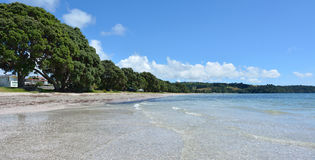 Landscape of Snells Beach near Warkworth New Zealand Stock Photography
