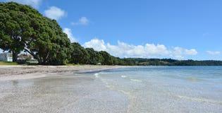 Landscape of Snells Beach near Warkworth New Zealand Stock Photography