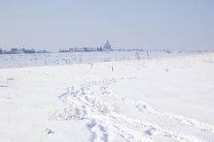 Landscape snow Stock Photos