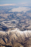 Landscape of snow mountains in Japan near Tokyo Royalty Free Stock Photos