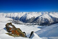 Landscape of Soelden Stock Image
