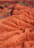 Landscape with Soil Erosion, Kenya Stock Photos