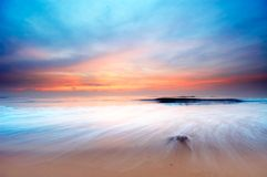 landscape solnedgången royaltyfria bilder