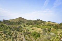 Landscape of Songaksan mountain stock image