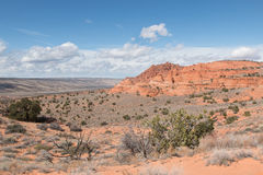 Landscape of South Coyote Buttes Royalty Free Stock Photography