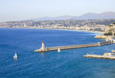 Nice, France. Landscape in the south of France, Nice Stock Photo