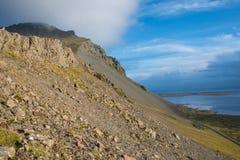 LAndscape of south Iceland stock photo