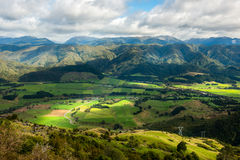 Landscape of South island, New Zealand Royalty Free Stock Photo