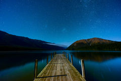 Landscape of South island, New Zealand Royalty Free Stock Images