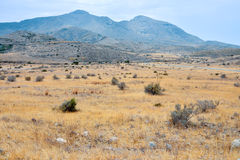 Landscape in South Spain Royalty Free Stock Images