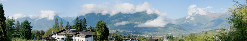 Landscape in South Tyrol, Italy Stock Photo