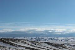 Landscape in southeastern Kazakhstan Stock Photography