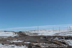 Landscape in southeastern Kazakhstan Royalty Free Stock Image