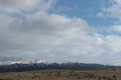 Landscape in southeastern Kazakhstan Royalty Free Stock Photo