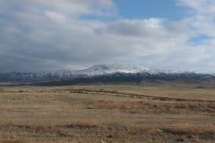Landscape in southeastern Kazakhstan Stock Image