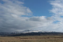 Landscape in southeastern Kazakhstan Royalty Free Stock Photos