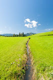 Landscape in Southern Germany Stock Photo